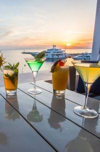 blu blu mykonos cafe bar cocktails
